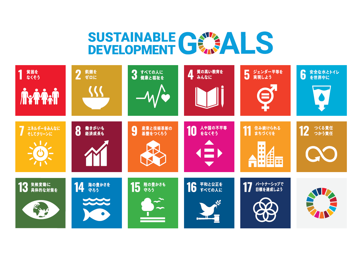 SDGs(持続可能な開発目標)をご存じですか?